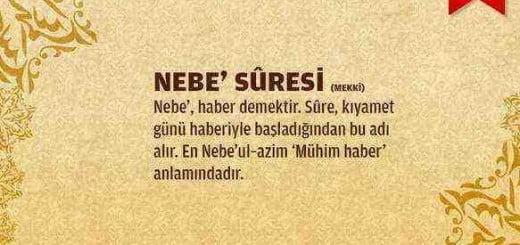 Nebe Suresi