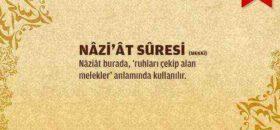 Naziat Suresi