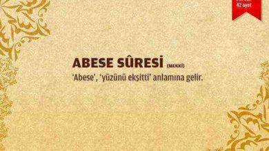 Abese Suresi