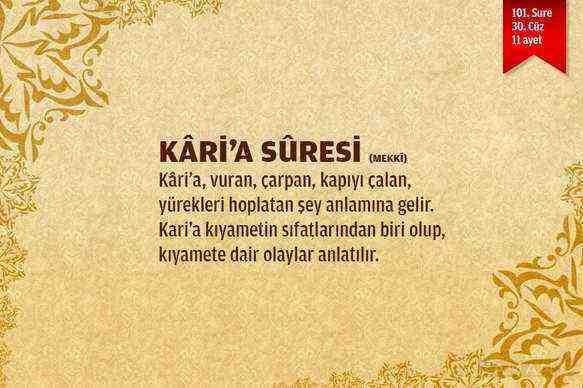 Karia Suresi