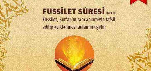 Fussilet Suresi