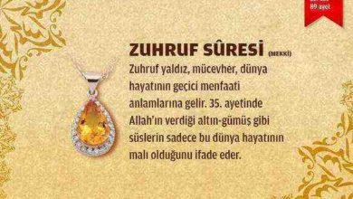 Zuhruf Suresi