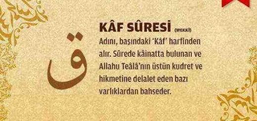 Kaf Suresi