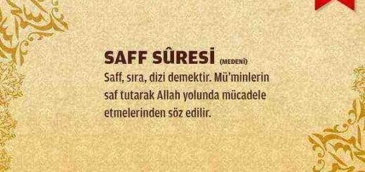Saf Suresi